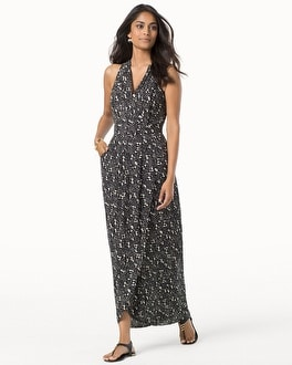 Ivy and Blu V-Neck Sleeveless Maxi Dress