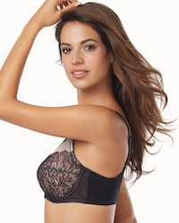 b45c77266fa ... Retro Chic Full Figure Unlined Lace Underwire Bra thumbnail image