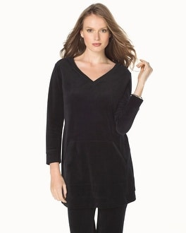 Live. Lounge. Wear. Velour Long Sleeve Tunic