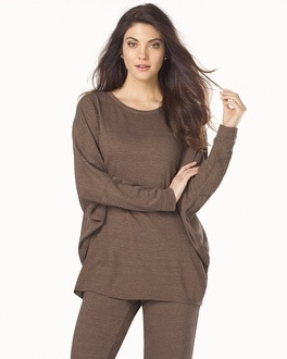 Natori Cosi Long Sleeve Top Taupe