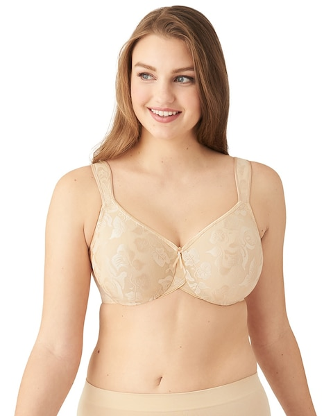 b74b89207e69f Return to thumbnail image selection Awareness Seamless Unlined Underwire Bra  video preview image