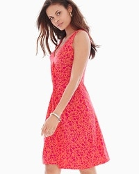 Leota Sleeveless Charlotte Dress Pocket Full of Posies