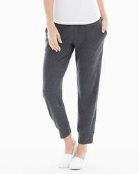 Midnight by Carole Hochman Lounge Pants Charcoal Heather Grey