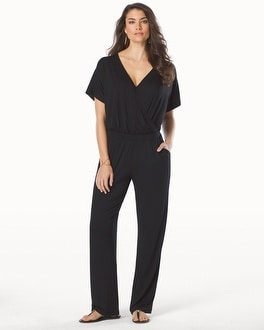 Cap Sleeve Jumpsuit Cover Up