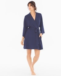 Cool Nights Short Robe