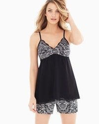 Precious Lace Sleep Camisole Black