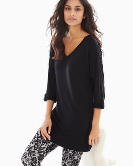 Live. Lounge. Wear. Divine Terry Rolled Cuff Tunic