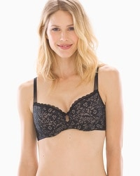 Enticing Lift Strappy Unlined Balconet Bra