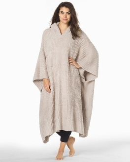 Barefoot Dreams Cozychic Long Ribbed Wrap Stone