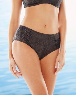 Fantasie St. Barts Shide Shirred Swim Bottom Bronze