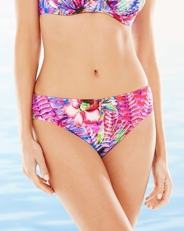 Fantasie Punta Cana Mid Rise Swim Bottom Coral