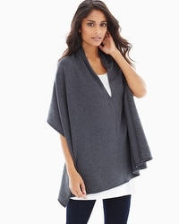 Live. Lounge. Wear. Fleece Multi-Way Wrap Heather Quartz