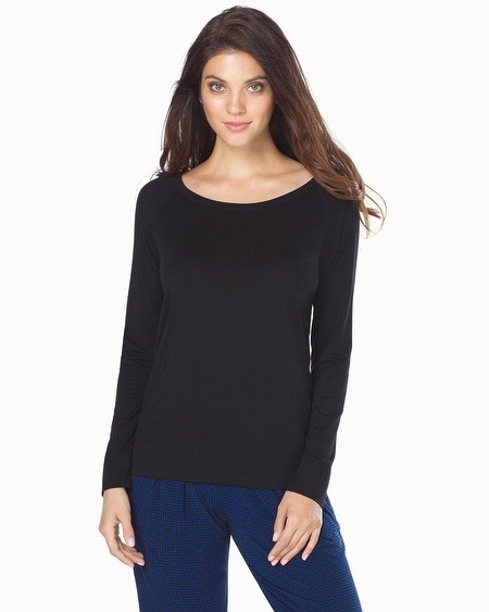 Tencel Long Sleeve Top