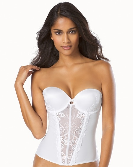 Caress Too Strapless Push Up Bustier