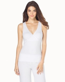 Naked Essential Cotton Blend Tank White