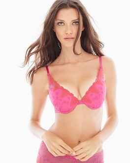 Passionata White Nights Push Up Bra Cotton Candy Pink