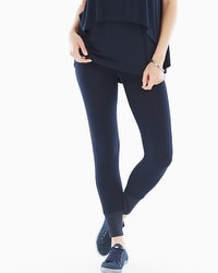 Midnight by Carole Hochman Lounge Black Leggings Midnight