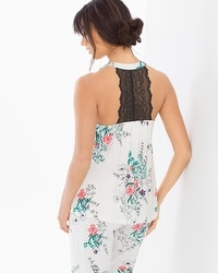 Cool Nights Lace Trim Camisole