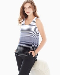 Live. Lounge. Wear. Striped Tank
