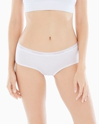 Naked Everyday Cotton Blend Hipster Panty Rose Dust