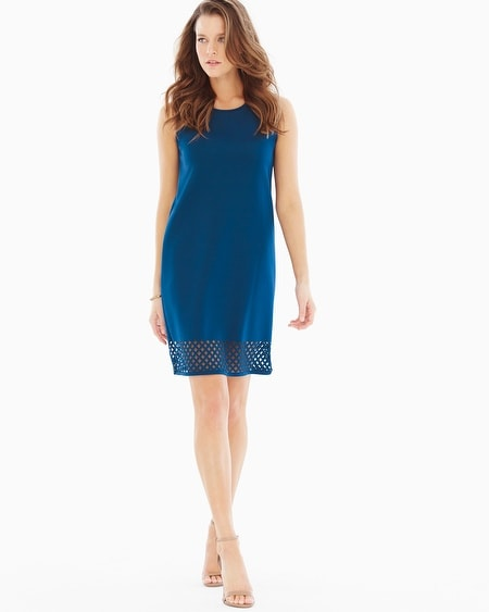 Annabelle Sleeveless Dress Marine Blue