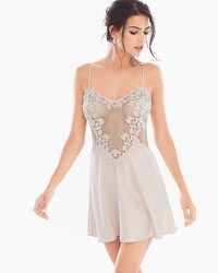 Flora Nikrooz Showstopper Sleep Chemise Champagne