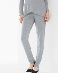 Natori Terry Tapered Lounge Pants Grey
