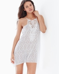 In Bloom by Jonquil Hana Sleep Chemise with Lace Ivory