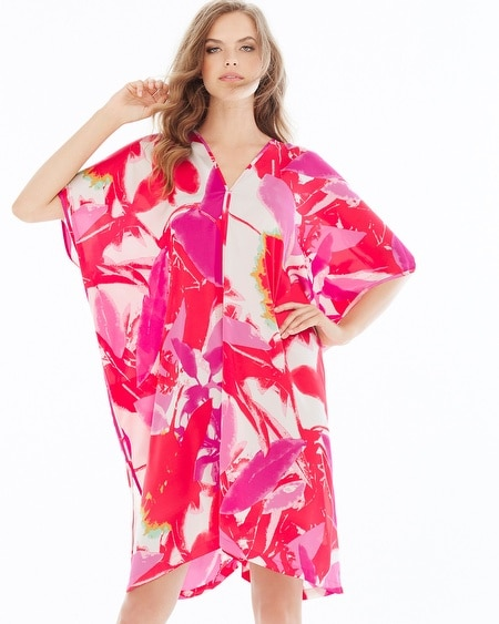 Lucent Palms Caftan Duchesse Rose