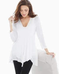 Miraclebody by Miraclesuit Alyse Asymmetrical Top White