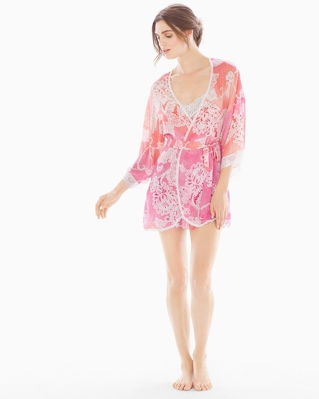 Chelsea Short Robe Coral