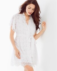 In Bloom by Jonquil Lucky Girl Short Robe White
