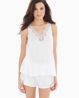 Natori Tranquility Pima Cotton Pajama Shorts Set