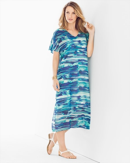 Caftan Midi Dress Cover Up
