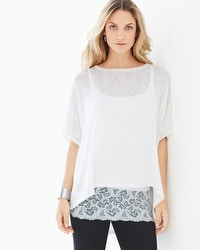 Miraclebody by Miraclesuit Cara White Sweater