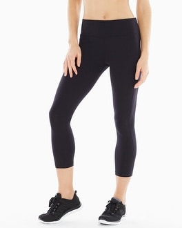 Slimming Miraclesuit Sport Crop Pants Black