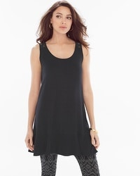 Live. Lounge. Wear. Sleeveless Lace Tunic Black
