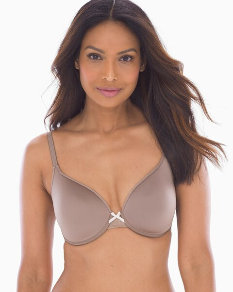 7300a4d492 Full Coverage Plunge T-Shirt Bra - Soma