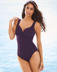 Miraclesuit Wraptress Once Piece Swimsuit