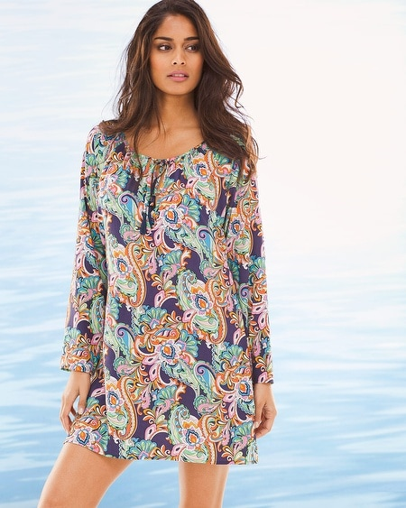 Mare Paisley Tunic Swim Cover Up
