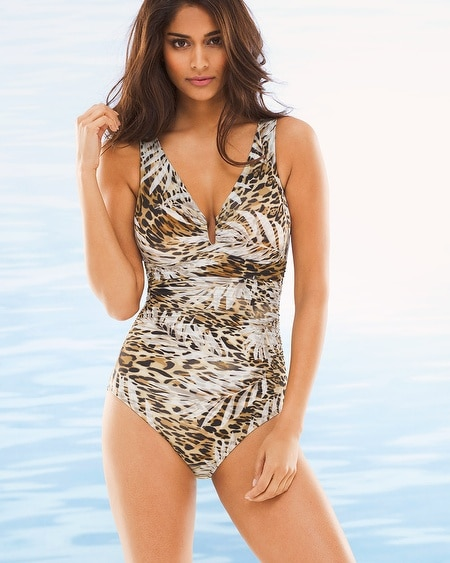 Sheer Safari Palisades One Piece Swimsuit