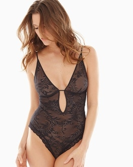 Natori Feathers Bodysuit