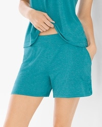 Cool Nights Pajama Shorts Heather Pagoda