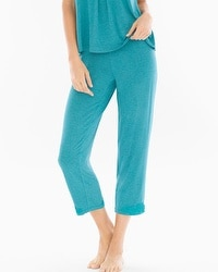 Cool Nights Ankle Pajama Pants Heather Pagoda