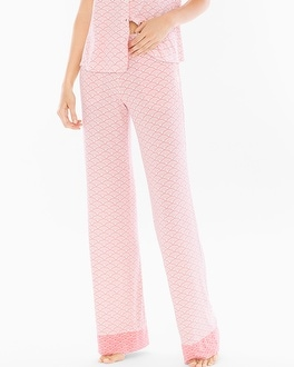 Cool Nights Pajama Pants Dynamic Dot Ivory Tall