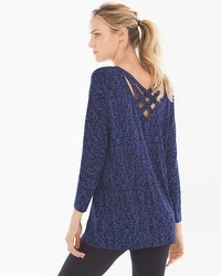 Live. Lounge. Wear. Cross-Back Tunic Splendor Mini Royal Blue