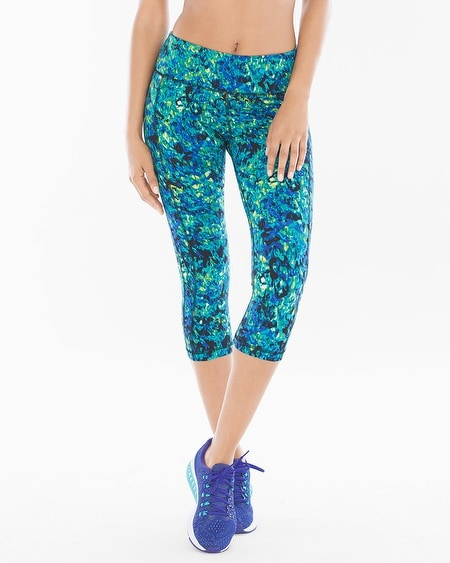 Crop Leggings Vibrant Viridian