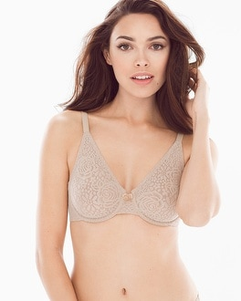 Halo Lace Underwire Bra by Wacoal
