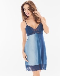 Jonquil Stormy Skies Blue Sleep Chemise Slate Blue