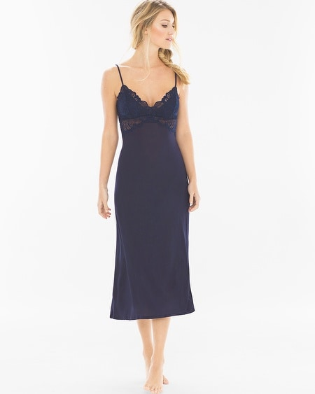 Stormy Skies Nightgown Navy